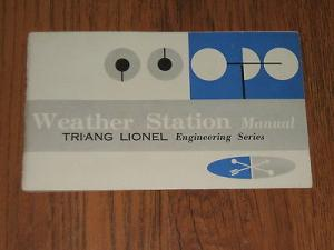Triang Weather Station Manual